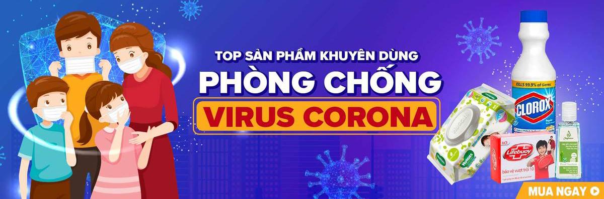 Combo phòng ngừa lây nhiễm virus Corona