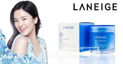 Review Laneige Water Sleeping Pack EX – tình một đêm ngọt ngào