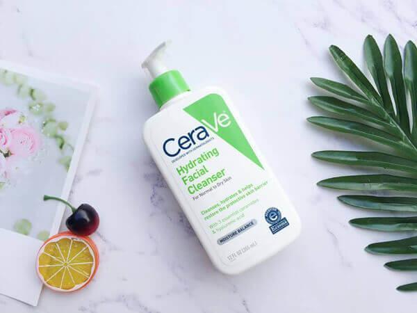 Review Sữa rửa mặt cho da khô Cerave Hydrating Cleanser