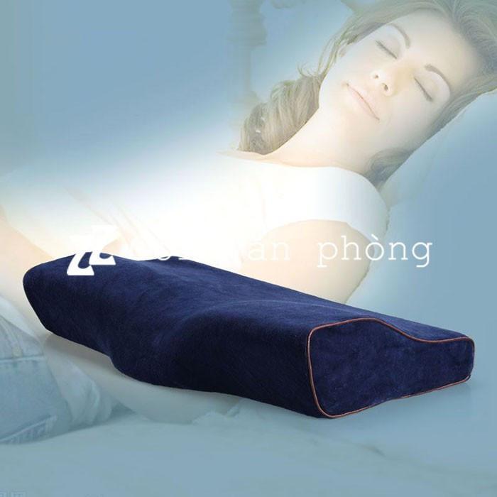 Review Gối ngủ chống đau vai gáy cao su non y tế ZURI PILLOW