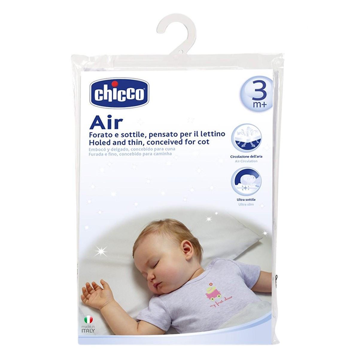 Review Gối ngủ thoáng khí Air Chicco
