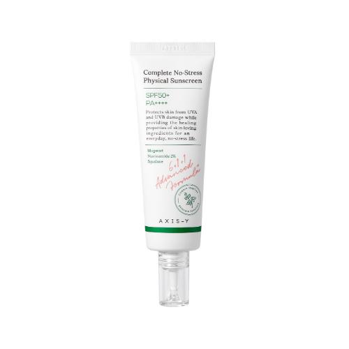 Đánh giá, review Kem chống nắng vật lý AXIS-Y Complete No-Stress Physical Sunscreen SPF50+ PA++++