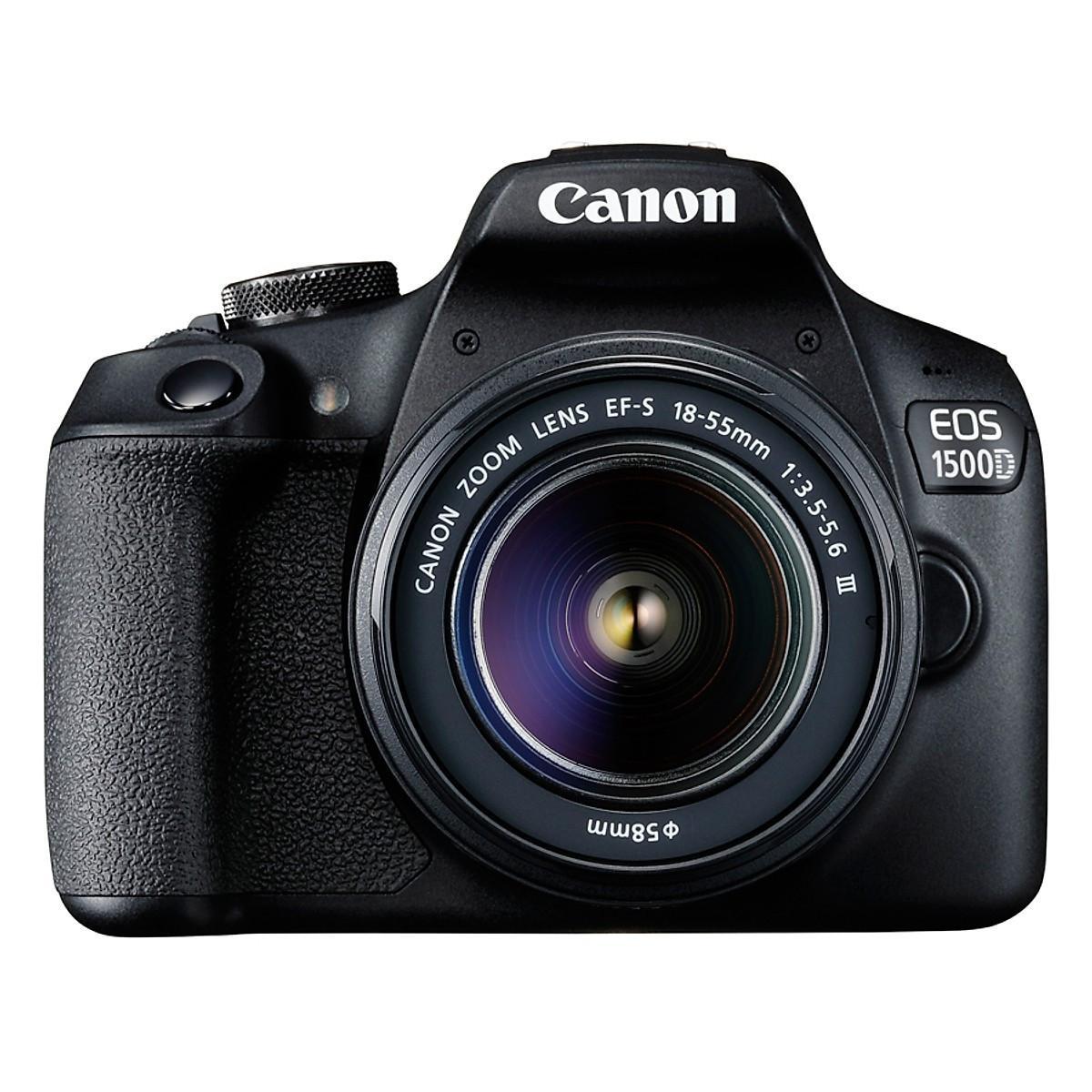 Đánh giá, review Máy Ảnh Canon EOS 1500D + Lens EF-S 18 - 55mm III