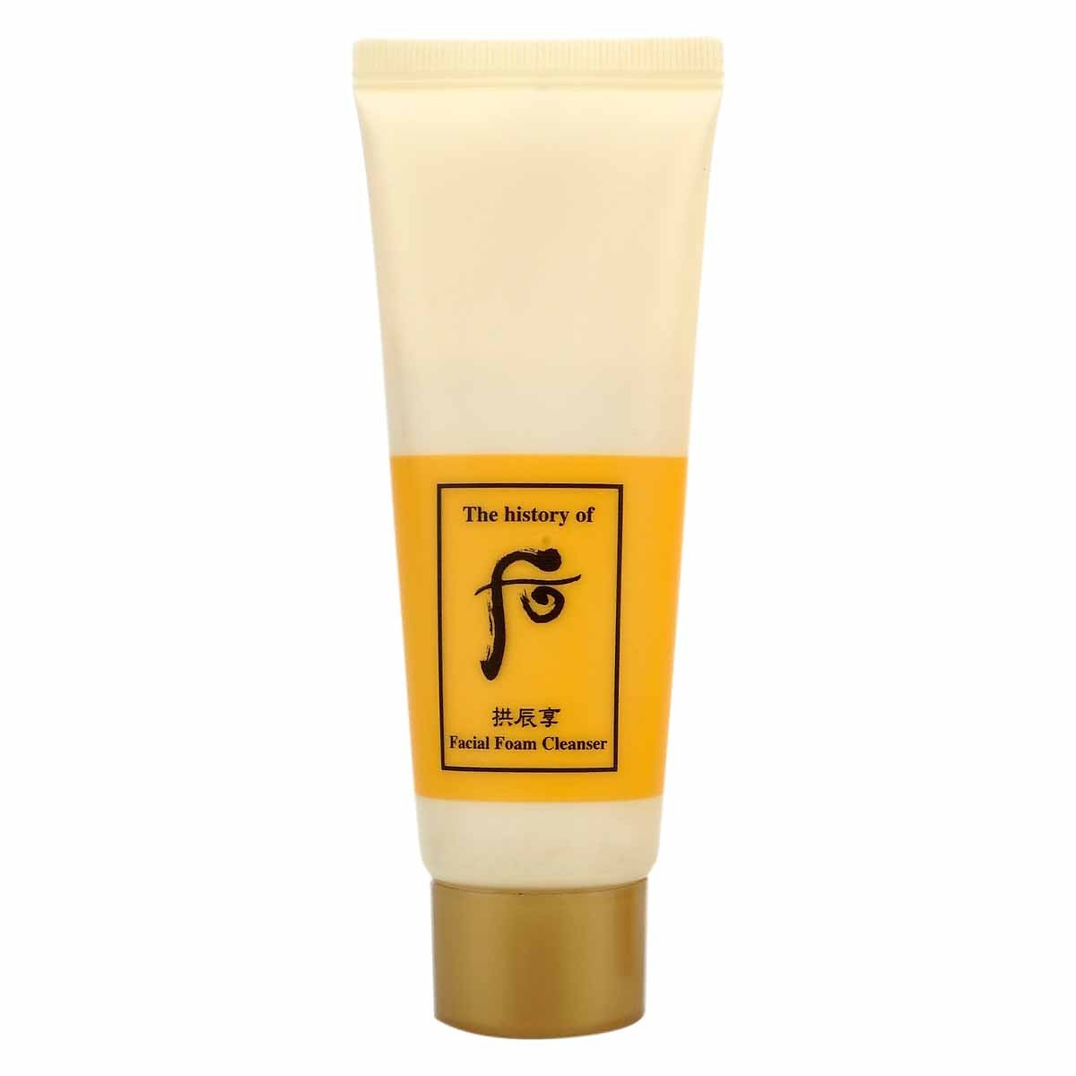 Review Sữa Rửa Mặt The History Of Whoo Gongjinhyang Facial Cleansing Foam 40ml
