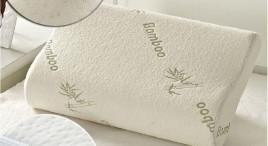 Đánh giá, review Gối Cao Su Non Bamboo (30x50cm) Chống Đau Cột Sống Cổ Ngáy Ngủ