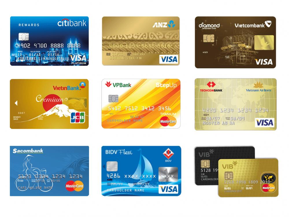 10 ngân hàng làm thẻ tín dụng tốt nhất