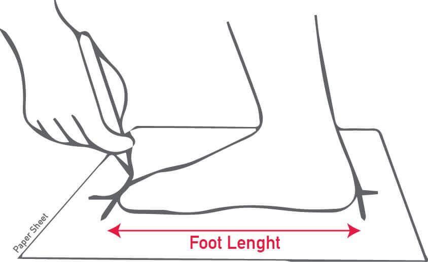 Mẹo vặt cho cách đo size giày nam hiệu quả