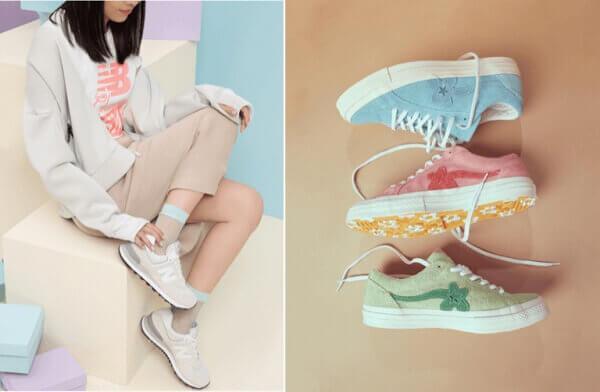 6 cách phối đồ đẹp với giày sneaker dành cho nữ