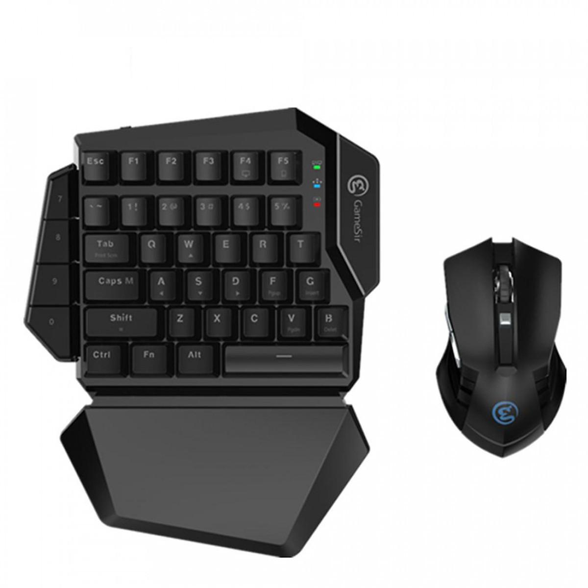Đánh giá, review Bàn phím cơ một tay Gamesir GK100 Gaming Keypad
