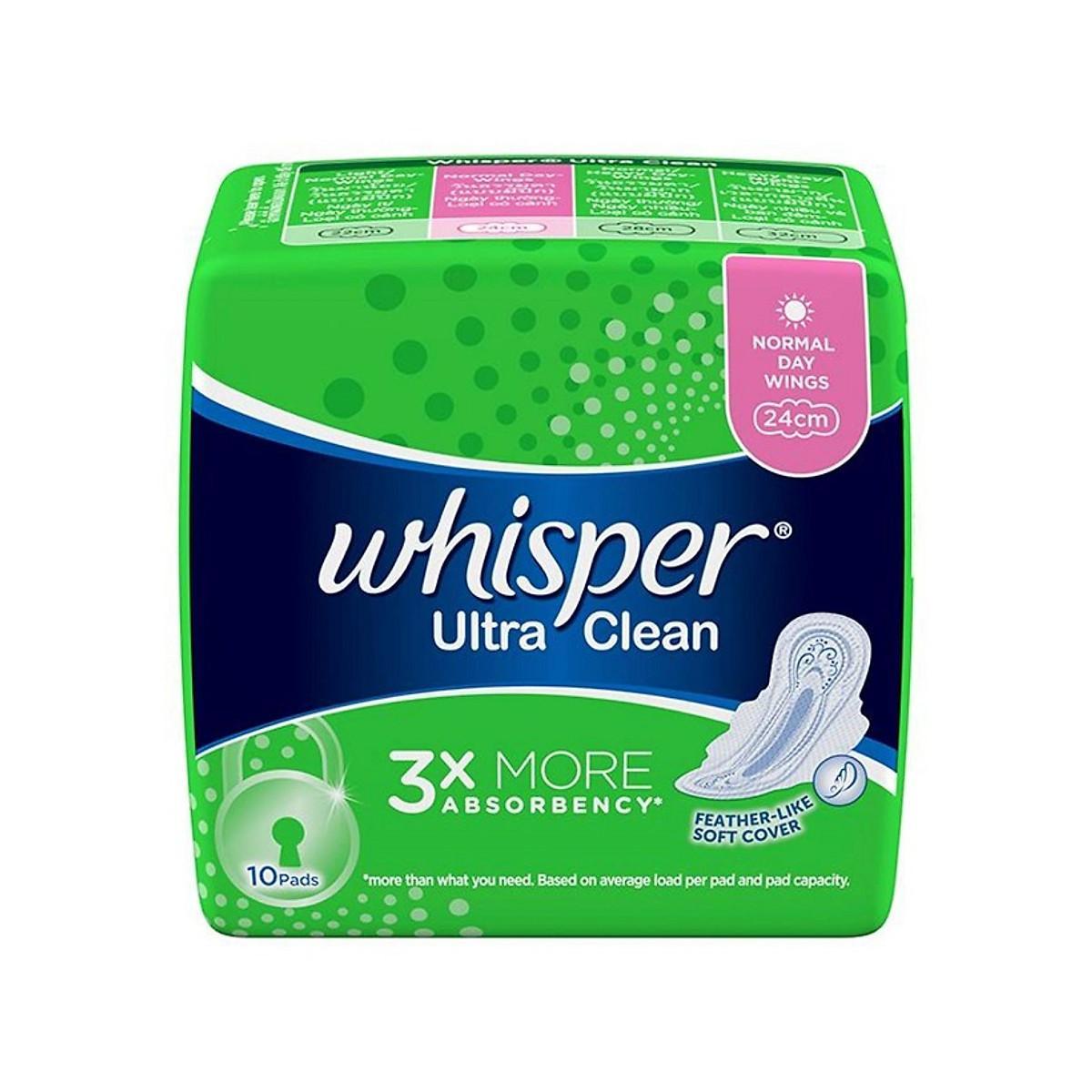 Đánh giá Băng vệ sinh Whisper