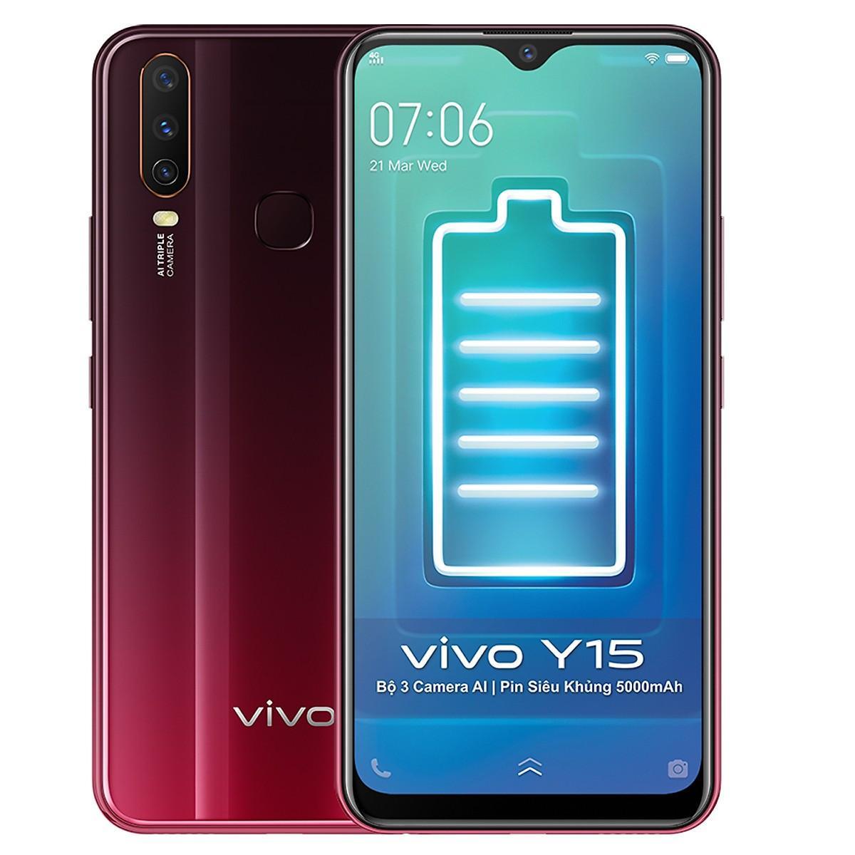 Review Điện Thoại Vivo Y15 (4GB / 64GB)