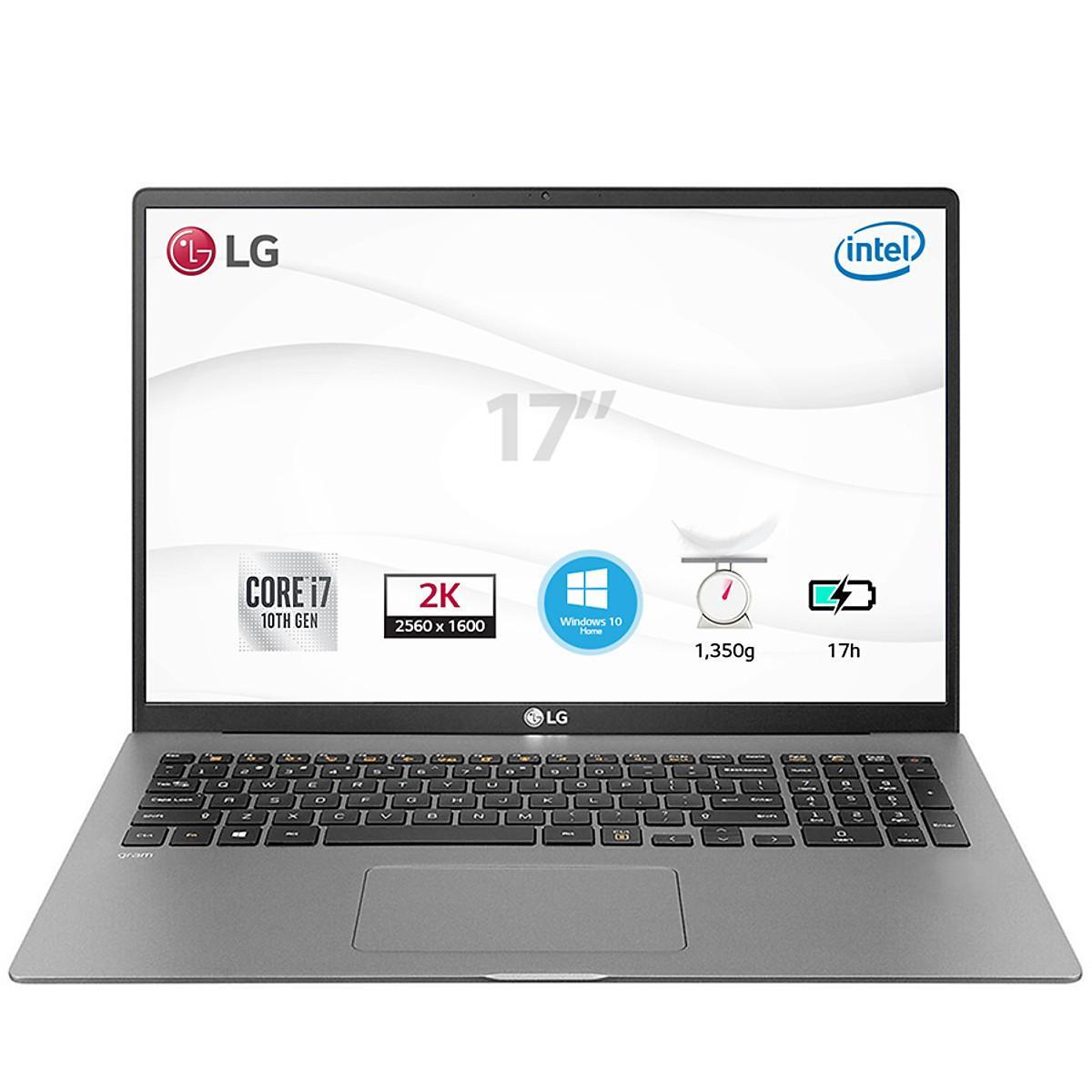 """Laptop LG Gram 2020 17Z90N 17"""" (i7/8GB/512GB)"""