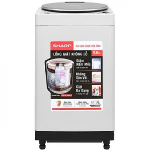Đánh giá Máy Giặt Cửa Trên Sharp ES-W90PV-H (9.0kg)