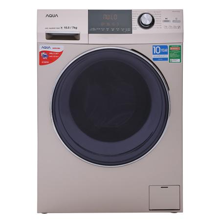 Đánh giá Máy Giặt Sấy Cửa Trước Aqua Inverter AQD-DH1050C W (10.5/ 7Kg)