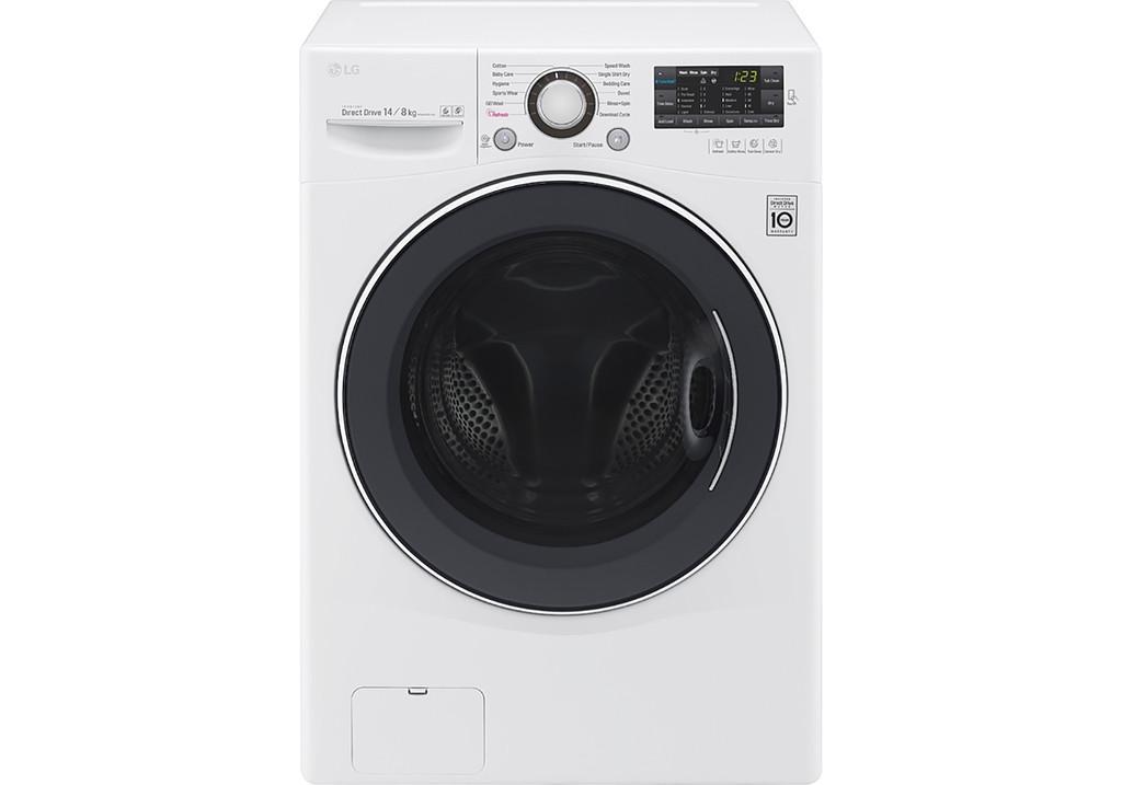 Review Máy Giặt Sấy Cửa Trước LG Inverter F2514DTGW (14Kg)