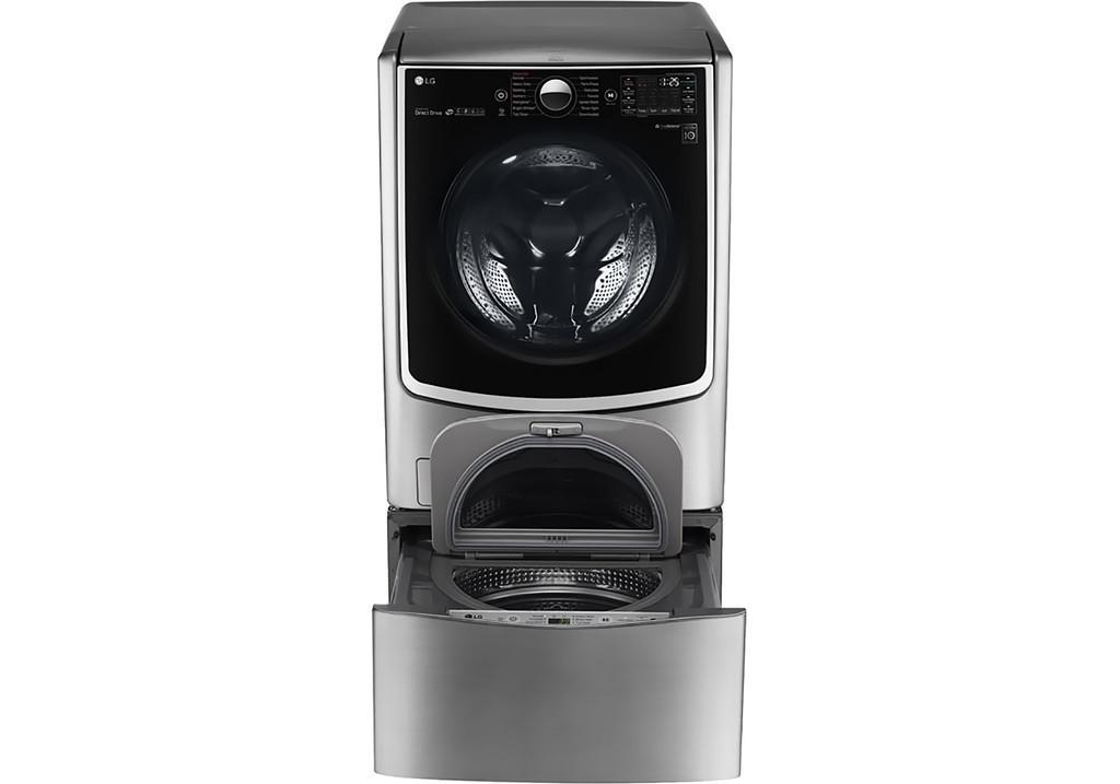 So Sánh Giá Máy Giặt Sấy Cửa Trước LG TwinWash Inverter F2721HTTV & T2735NWLV (21kg)