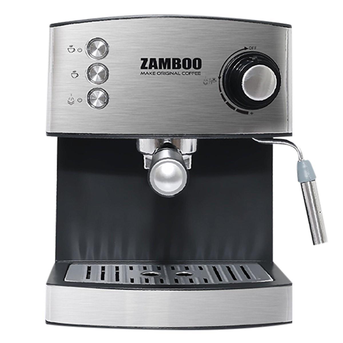Đánh giá chi tiết Máy Pha Cà Phê Espresso Zamboo ZB-88CF (1.6L)