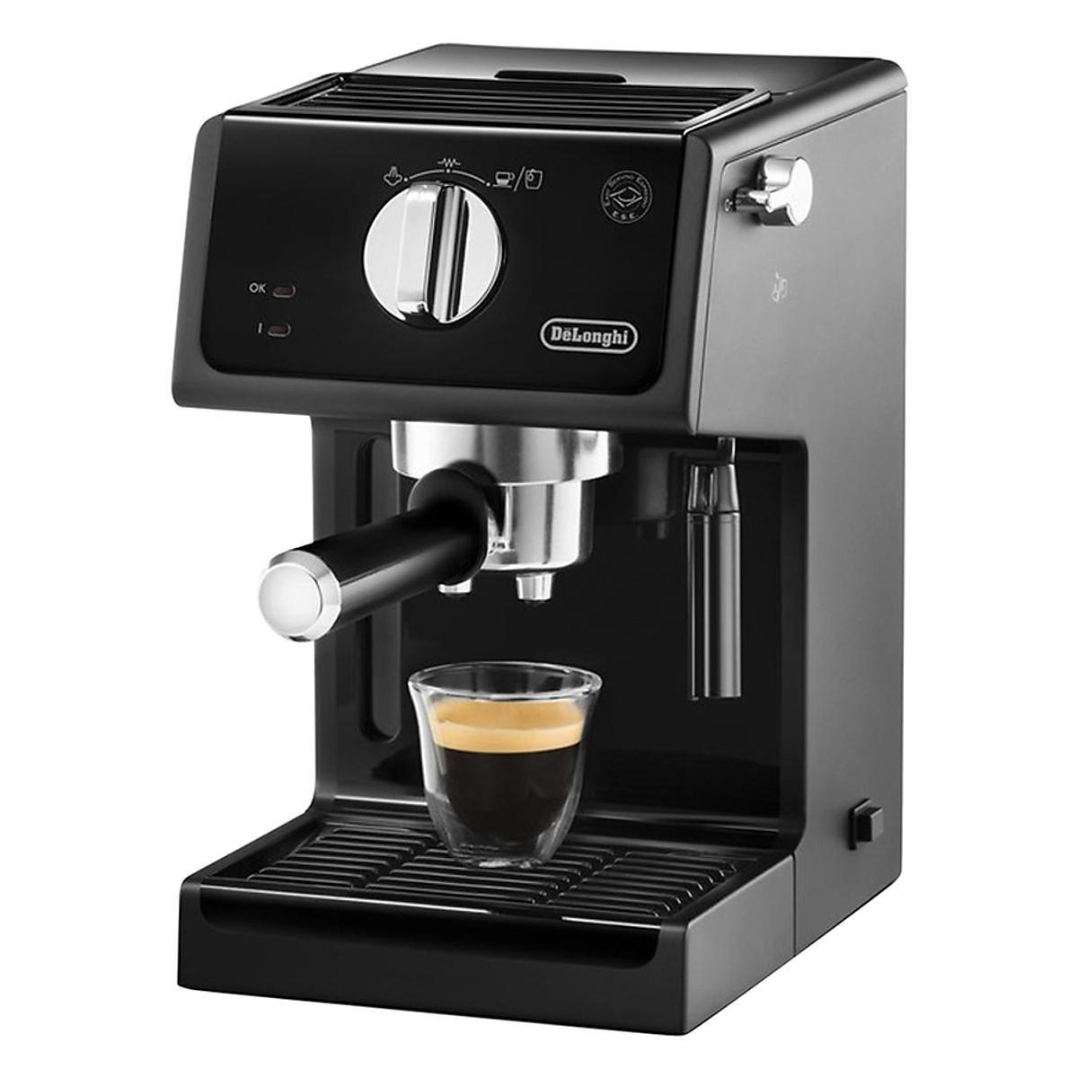 Đánh giá chi tiết Máy pha cafe Espresso DELONGHI ECP31.21 1100W