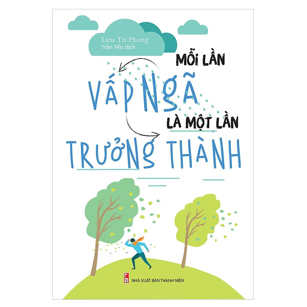 Review Sách Mỗi lần vấp ngã là một lần trưởng thành của Liêu Trí Phong