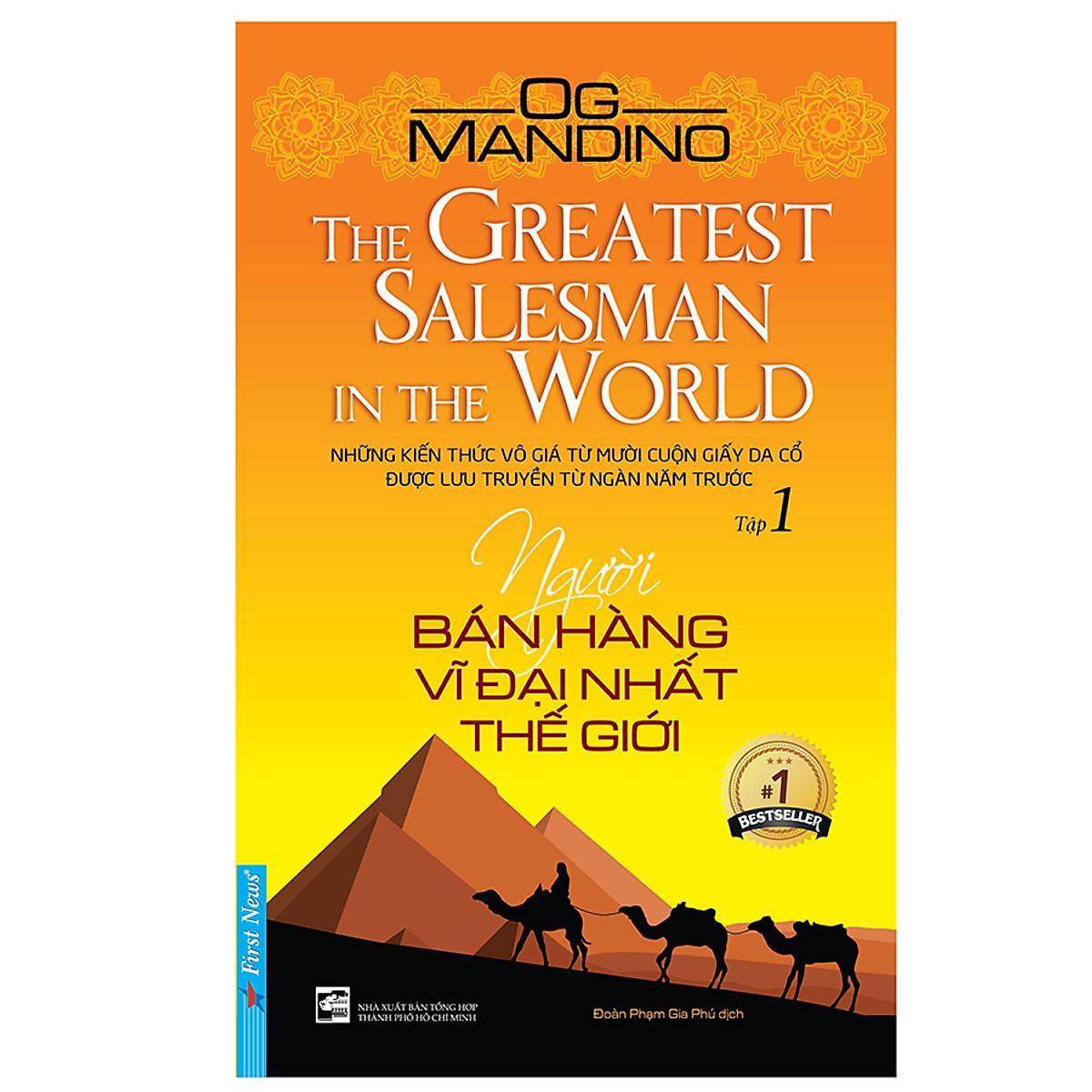 Đánh giá Sách Người bán hàng vĩ đại nhất thế giới Og Mandino