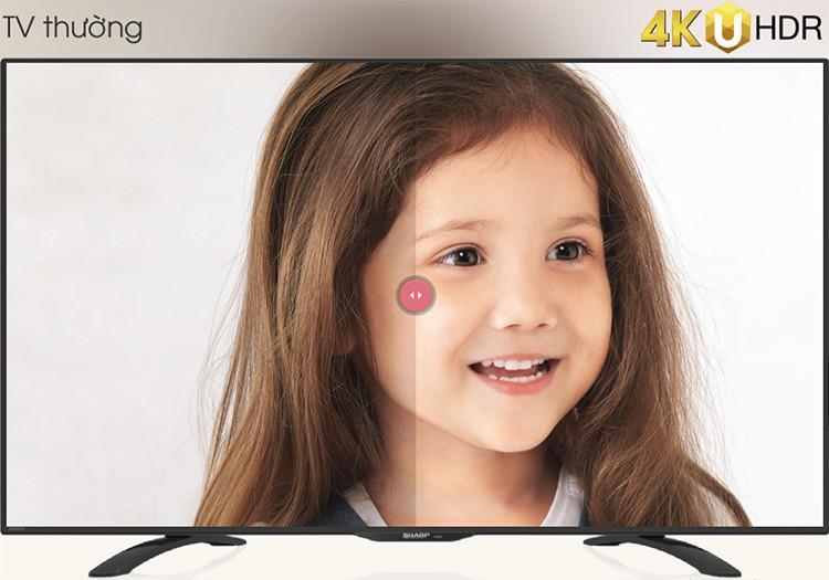 So Sánh Giá Smart Tivi Sharp 4K UHD LC-60UA6500X (60inch)