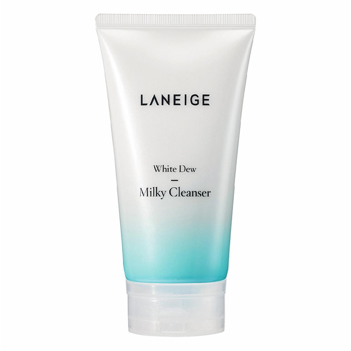 Đánh giá chi tiết Sữa Rửa Mặt Dưỡng Trắng Laneige White Dew Milky Cleanser 150ml