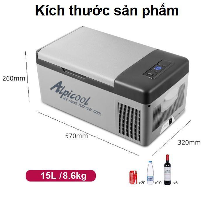 Review Tủ Lạnh Mini Alpicool C15 Dung Tích (15L)