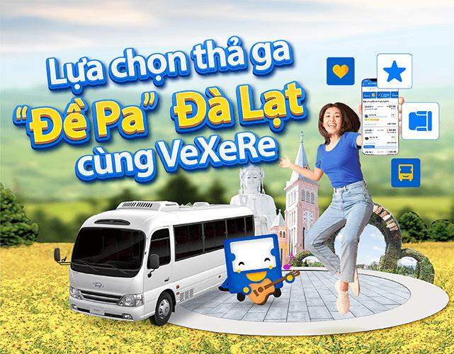 Vexere - Nền tảng kết nối người dùng và nhà xe