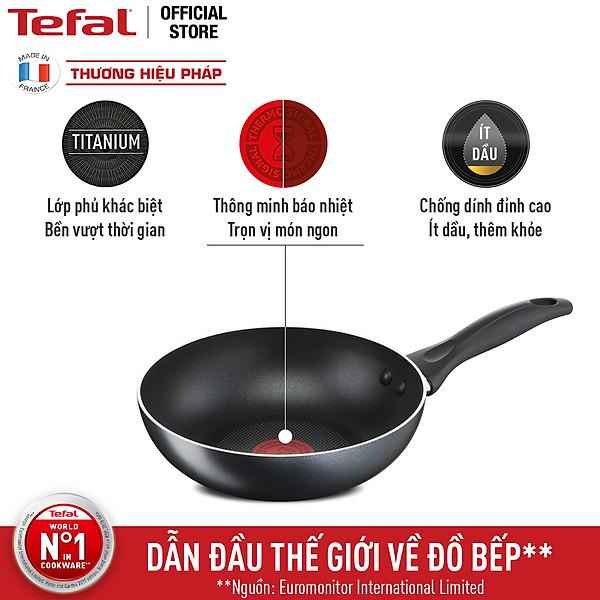 So Sánh Giá  Chảo Chiên Tefal Cook & Clean 26cm B2250595 - Hàng Chính Hãng