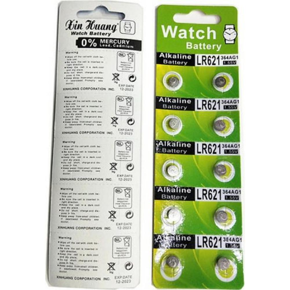 Review 2 vỉ pin đồng hồ đeo tay