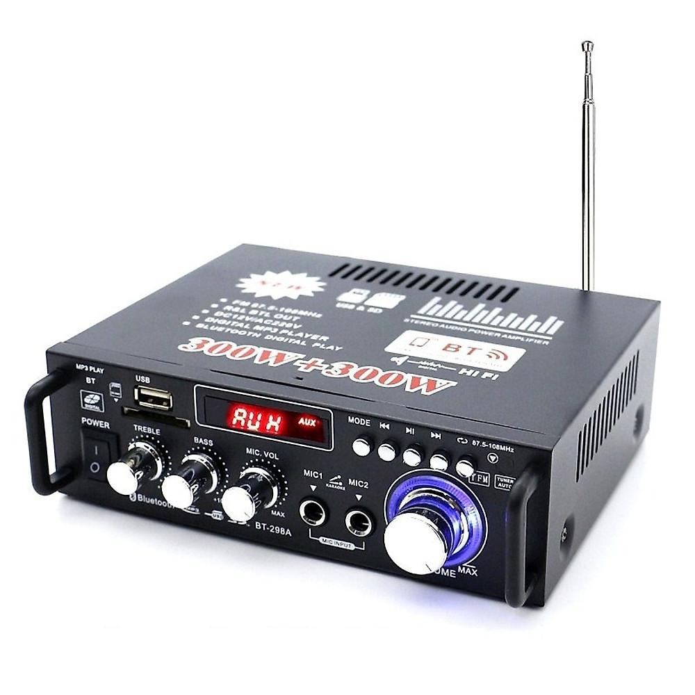 Đánh giá Ampli Bluetooth DAC BT-298A