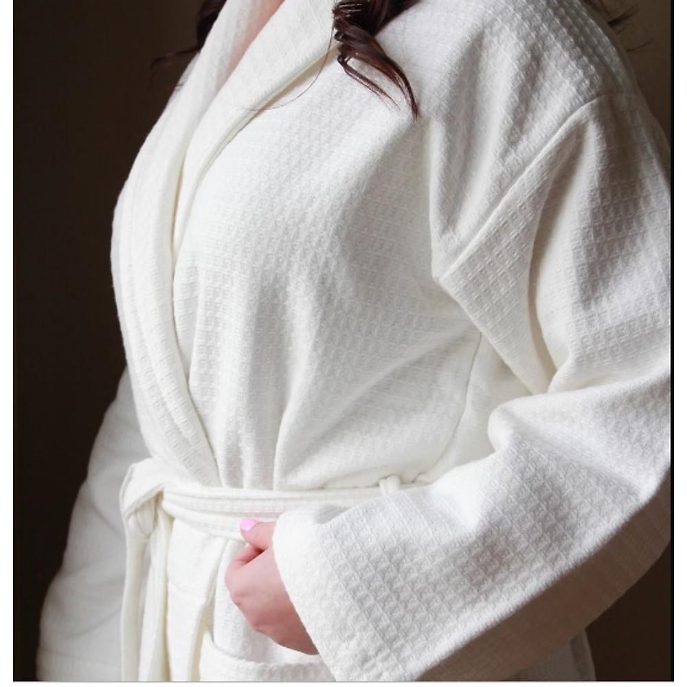 So Sánh Giá Áo Choàng Tắm Kimono Dệt 100% Cotton, áo Choàng Tắm Khách Sạn, Spa, Homestay