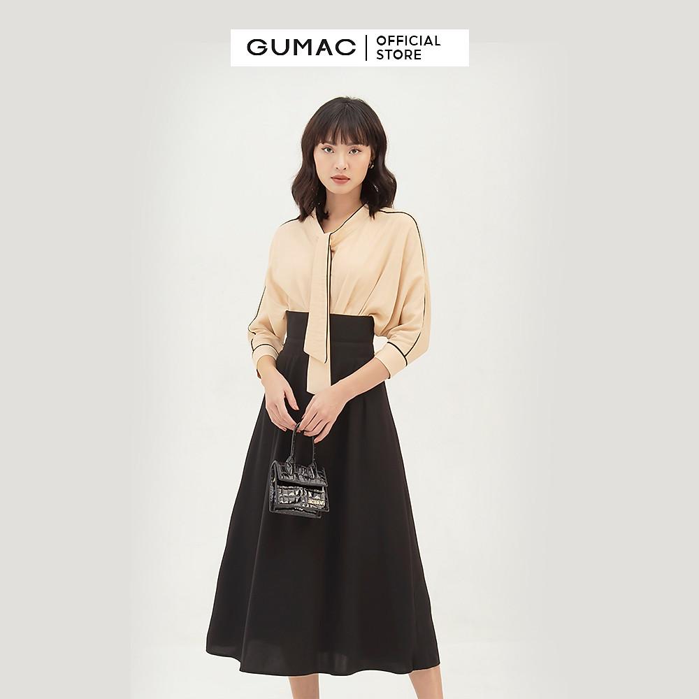 Đánh giá Áo sơ mi nữ thiết kế tay dơi GUMAC AB348