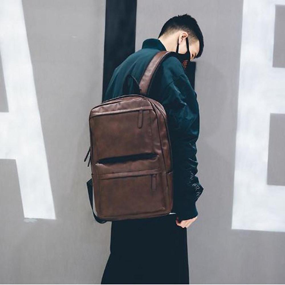 Đánh giá Balo da thời trang nam Hàn Quốc cao cấp đi học đi chơi