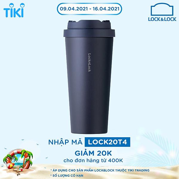 So Sánh Giá Bình Giữ Nhiệt Lock&Lock Energetic One-Touch Tumbler LHC3249 - 550ML