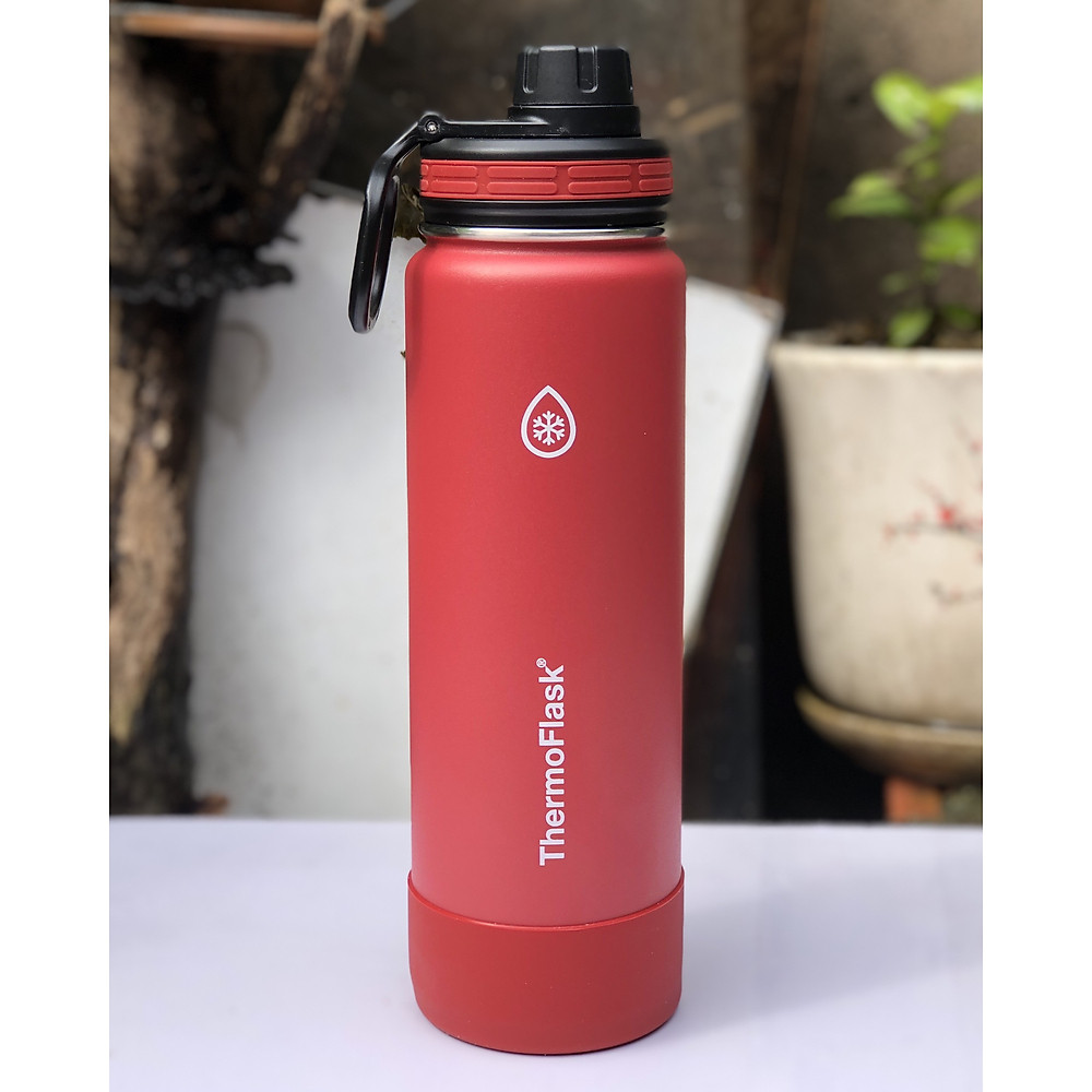 Review Bình Giữ Nhiệt Thermo Flask  giữ nóng 12h giữ lạnh 24h 710ml