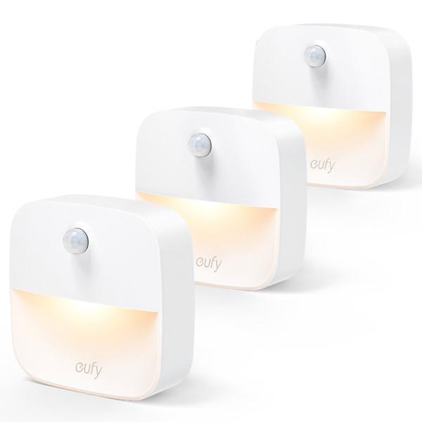 So Sánh Giá Bộ 3 Đèn Eufy Lumi Stick-On Night Light, 0.1W - T1301