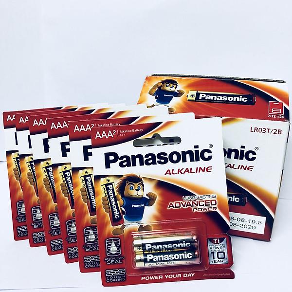 So Sánh Giá Bộ 6 Vỉ (12 Viên Pin) Pin Kiềm Alkaline Panasonic AAA LR03T/2B-Hàng Chính Hãng
