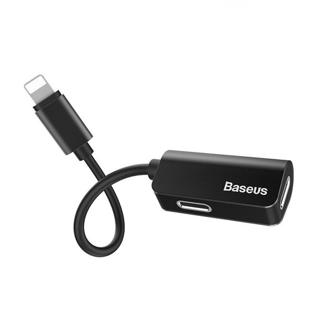 Đánh giá Bộ Adapter chia cổng Lightning thành Jack tai nghe Lightning và sạc Lightning hiệu Baseus L370 cho iPhone iPad - hàng chính hãng