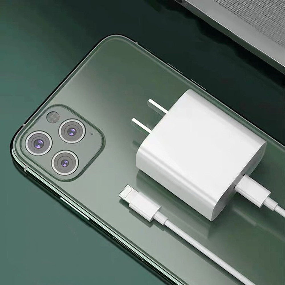 Đánh giá Bộ cáp sạc nhanh 20W chuẩn PD - Cho iPhone Xs max