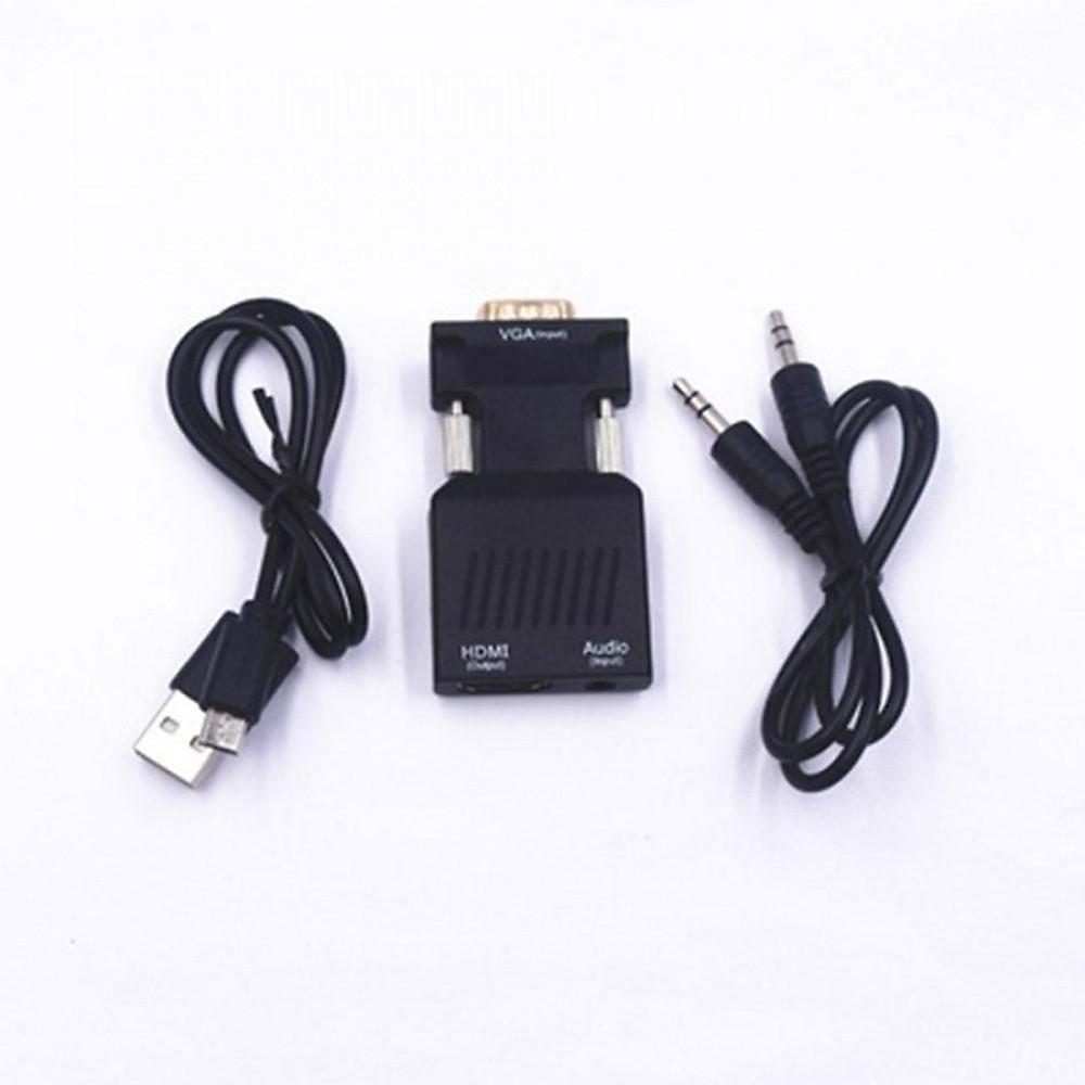 Đánh giá Bộ Chuyển Đổi VGA sang HDMI kèm Audio - VGA to HDMI