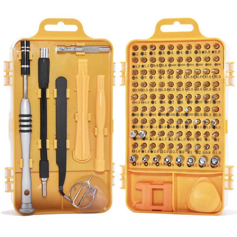Đánh giá Bộ công cụ tua vít chuyên sửa chữa tháo lắp điện thoại laptop bỏ túi 110 in1 (full 98 đầu vít) - sử dụng tốt cho thiết bị iphone mac xiaomi samsung
