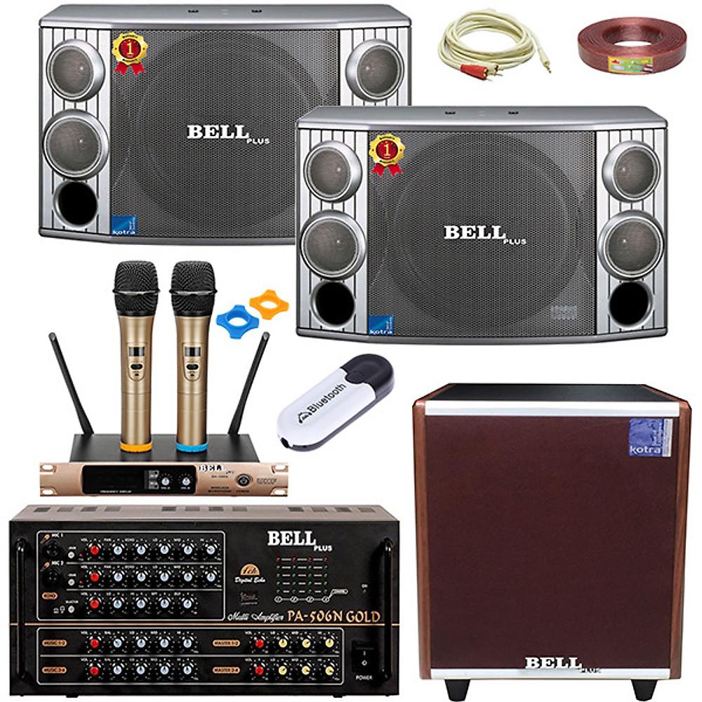 Review Bô dàn nhạc karaoke gia đình SA - 506N GOLD BellPlus (hàng chính hãng)