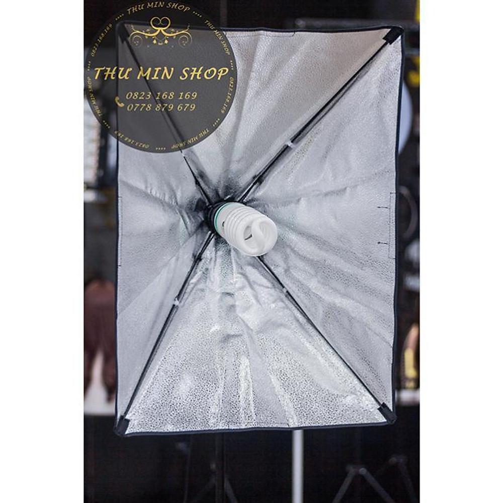 So Sánh Giá Bộ đèn Tản Sáng đui E27 Softbox 60x90cm, Chụp Sản Phẩm Livetream Quay Phim Chuyên Nghiệp