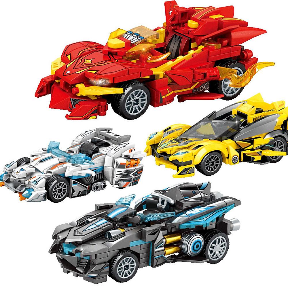 Đánh giá Bộ đồ chơi lắp ráp Siêu xe chất liệu nhựa ABS an toàn với hơn 200 chi tiết