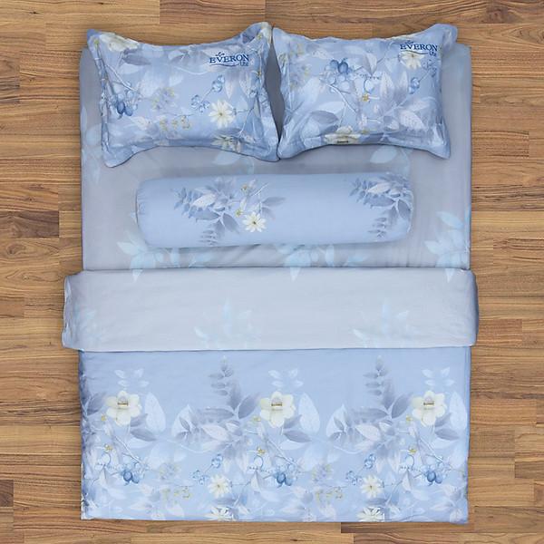 So Sánh Giá Bộ Ga Chun Cotton Xanh In Hoa Everon Lite ELCP105 (4 Món)