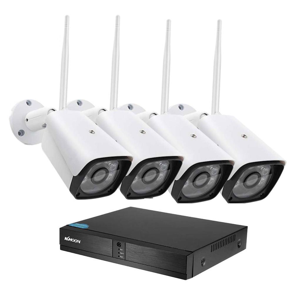 So Sánh Giá Bộ Kit 4 Camera Thân 6 LED Dùng Phần Mềm XMEYE 720P +500GB - Hàng Nhập Khẩu