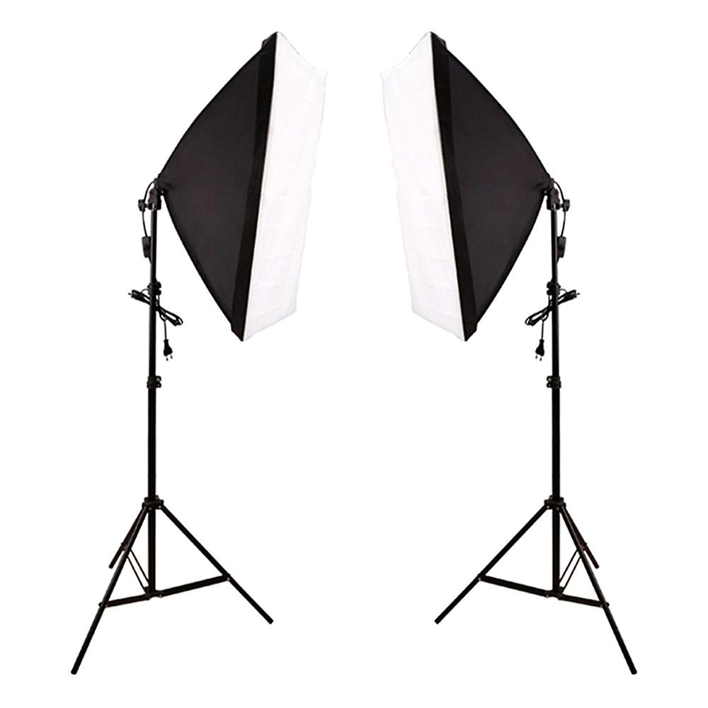 So Sánh Giá Bộ Kit Studio 2 Đèn 4 Bóng 150W