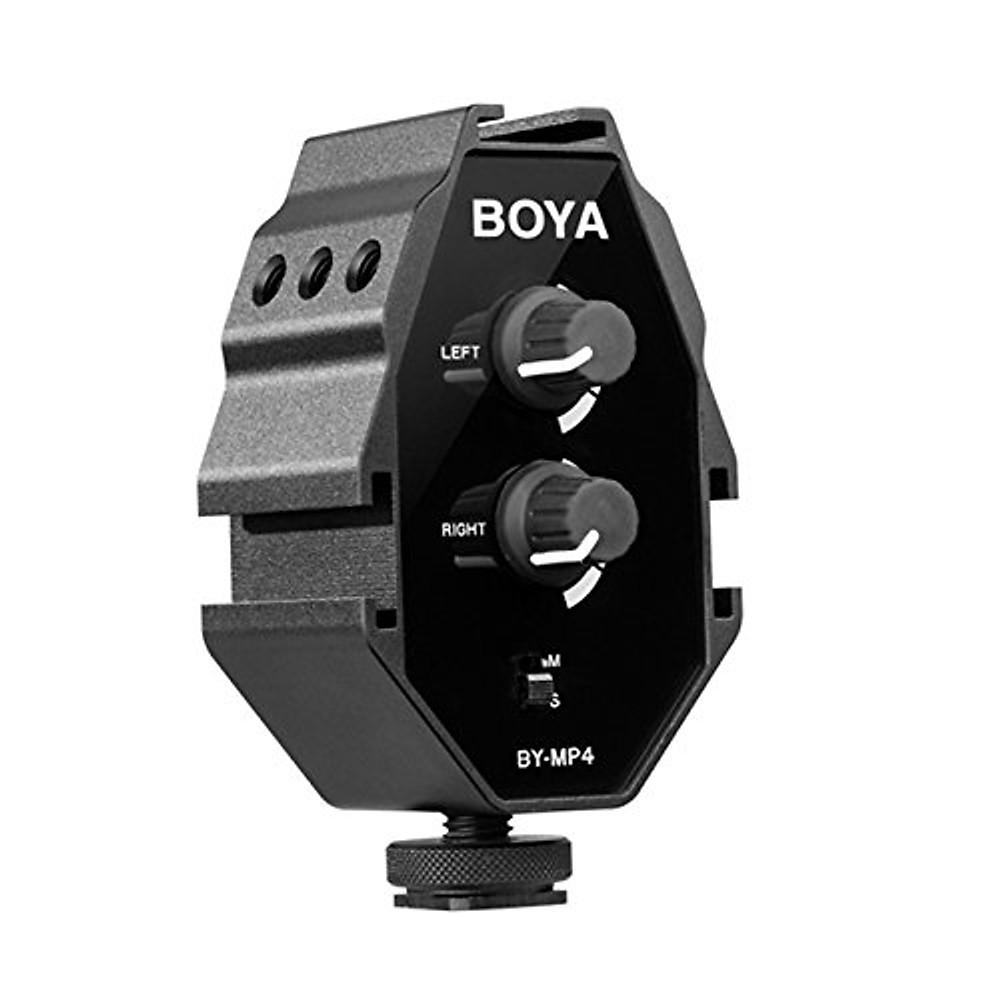 So Sánh Giá Boya BY-MP4 - Bộ Trộn Micro Stereo Cho Máy ảnh - Hàng Chính Hãng