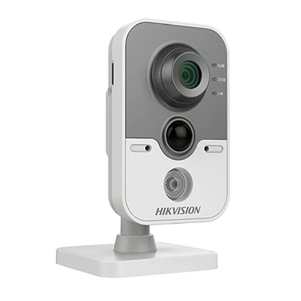So Sánh Giá Camera IP Cube Hikvision DS-2CD2442FWD-IW 4.0MP Và Thẻ Nhớ 128GB - Tặng Kèm Tai Nghe Bluetooth - Hàng Chính Hãng